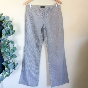 the limited | striped drew fit pants size 8